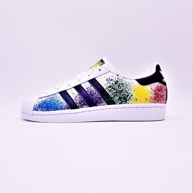 adidas superstar color full