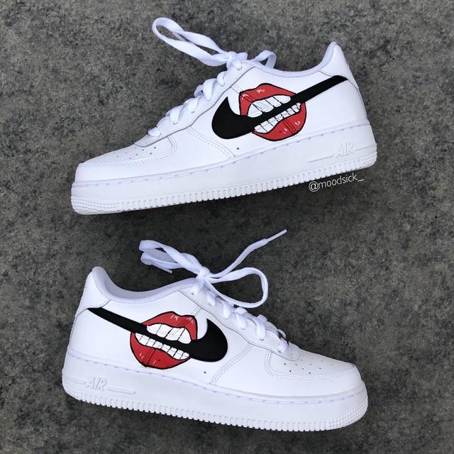 Nike air force 1 X lips