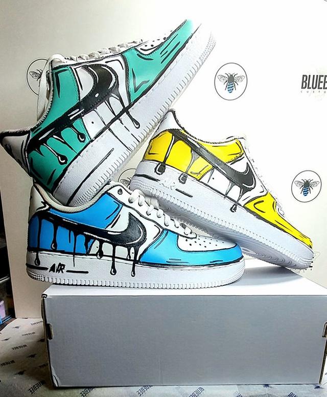 Off White Nike Air Force 1 Strap Custom