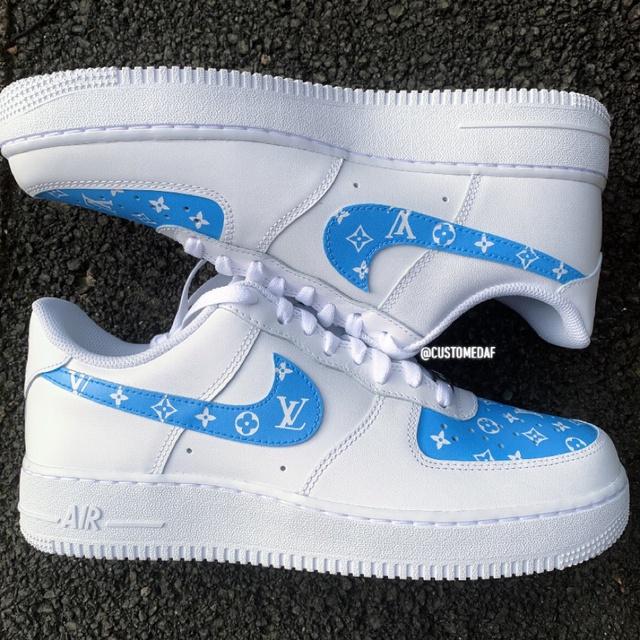 air force 1 azzurre