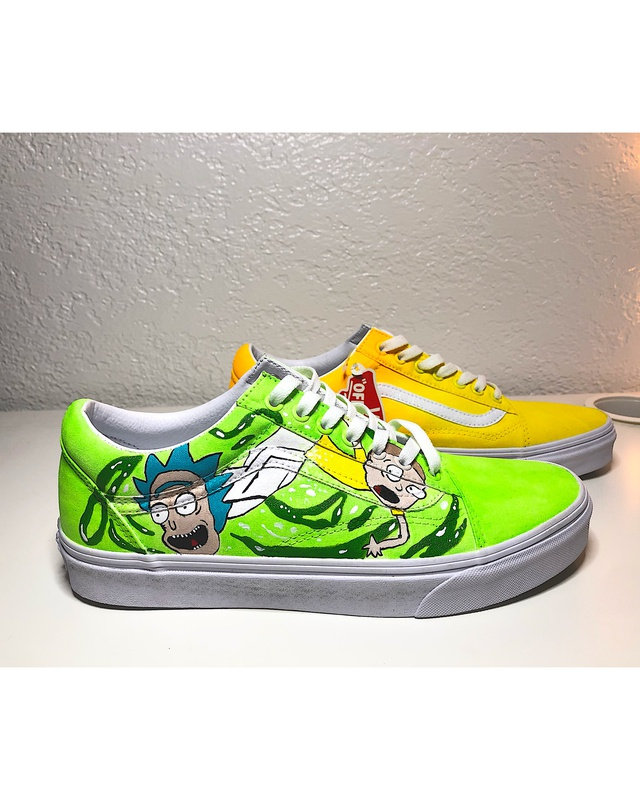 vans rick and morty