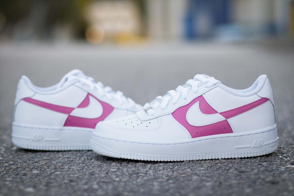 Nike Air Force 1 Dual Dark Pink