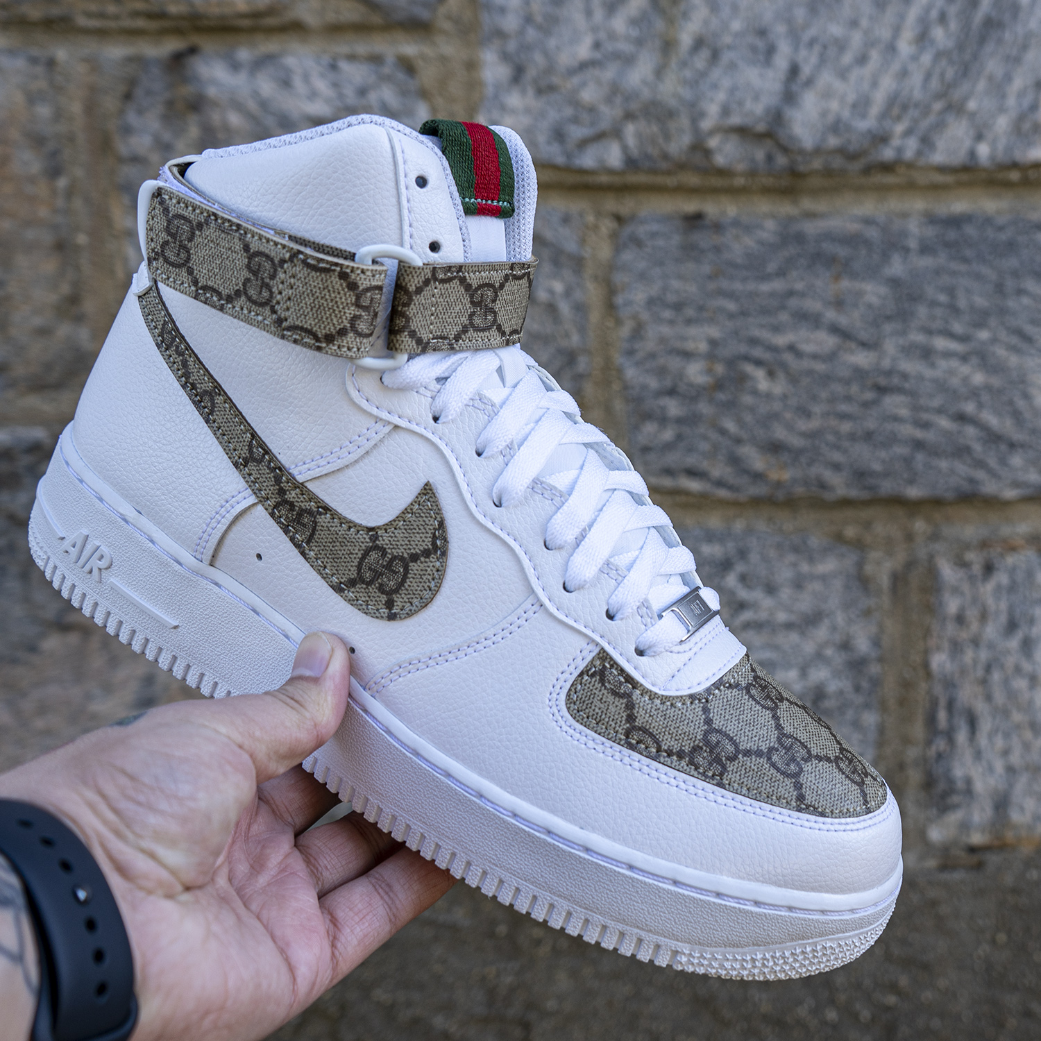 Nike Air Force 1 Gucci The Custom Movement