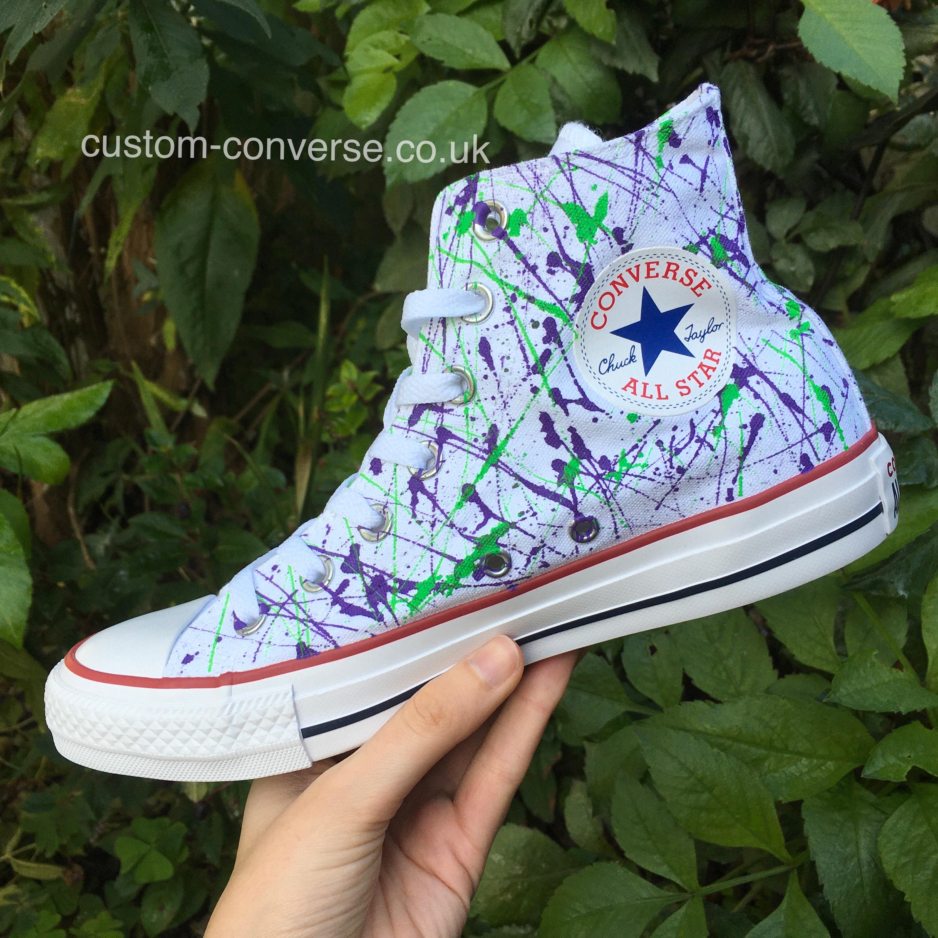 converse splatter
