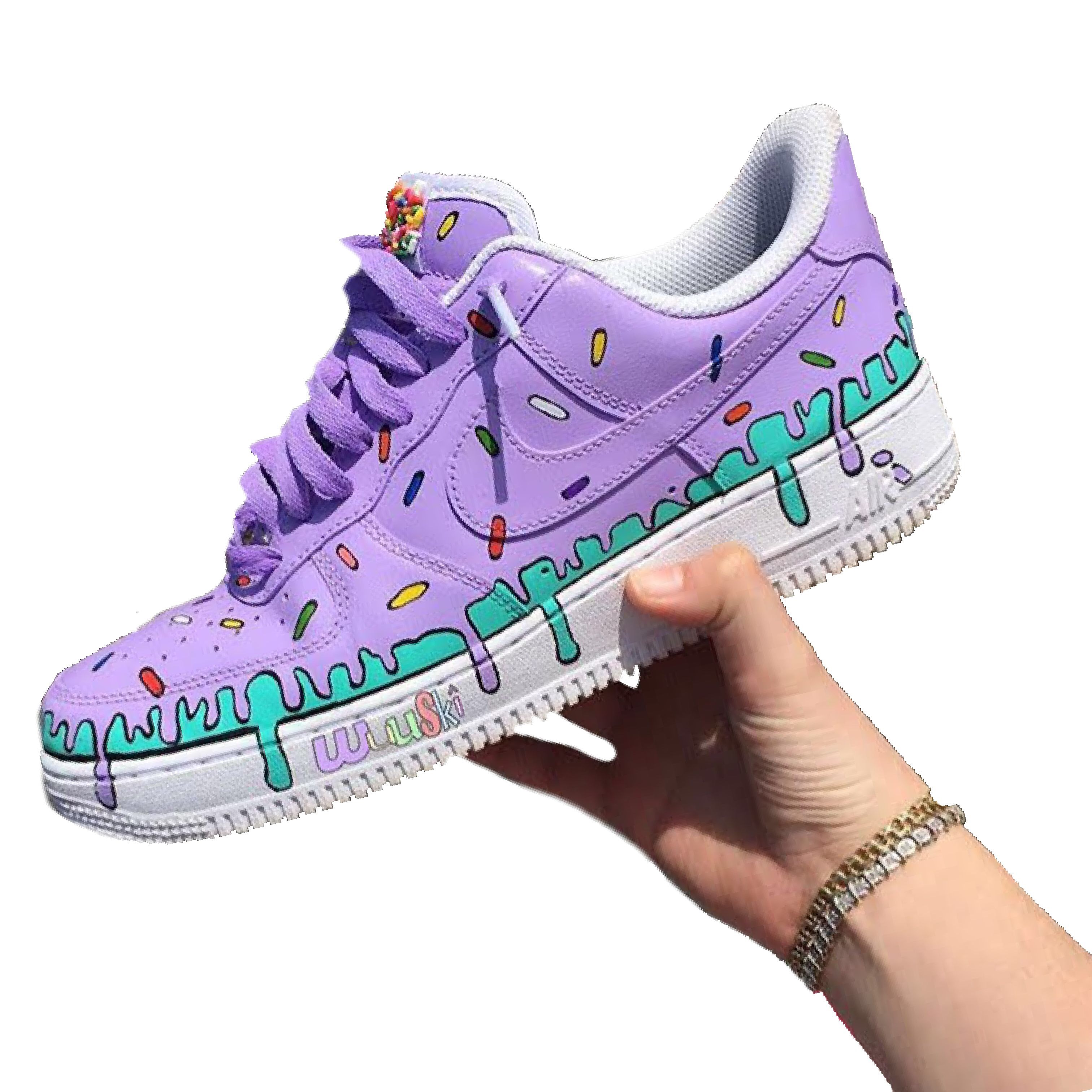 Donuts Air Force 1 | THE CUSTOM MOVEMENT