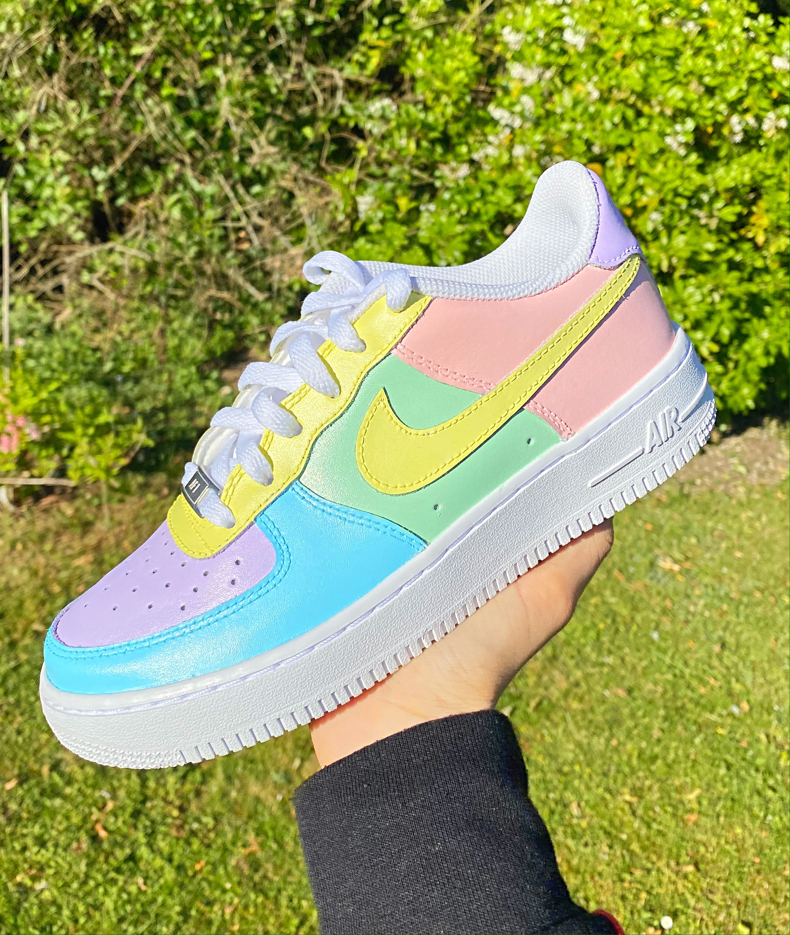 Pastel Passion Nike Air Force 1 | THE CUSTOM MOVEMENT