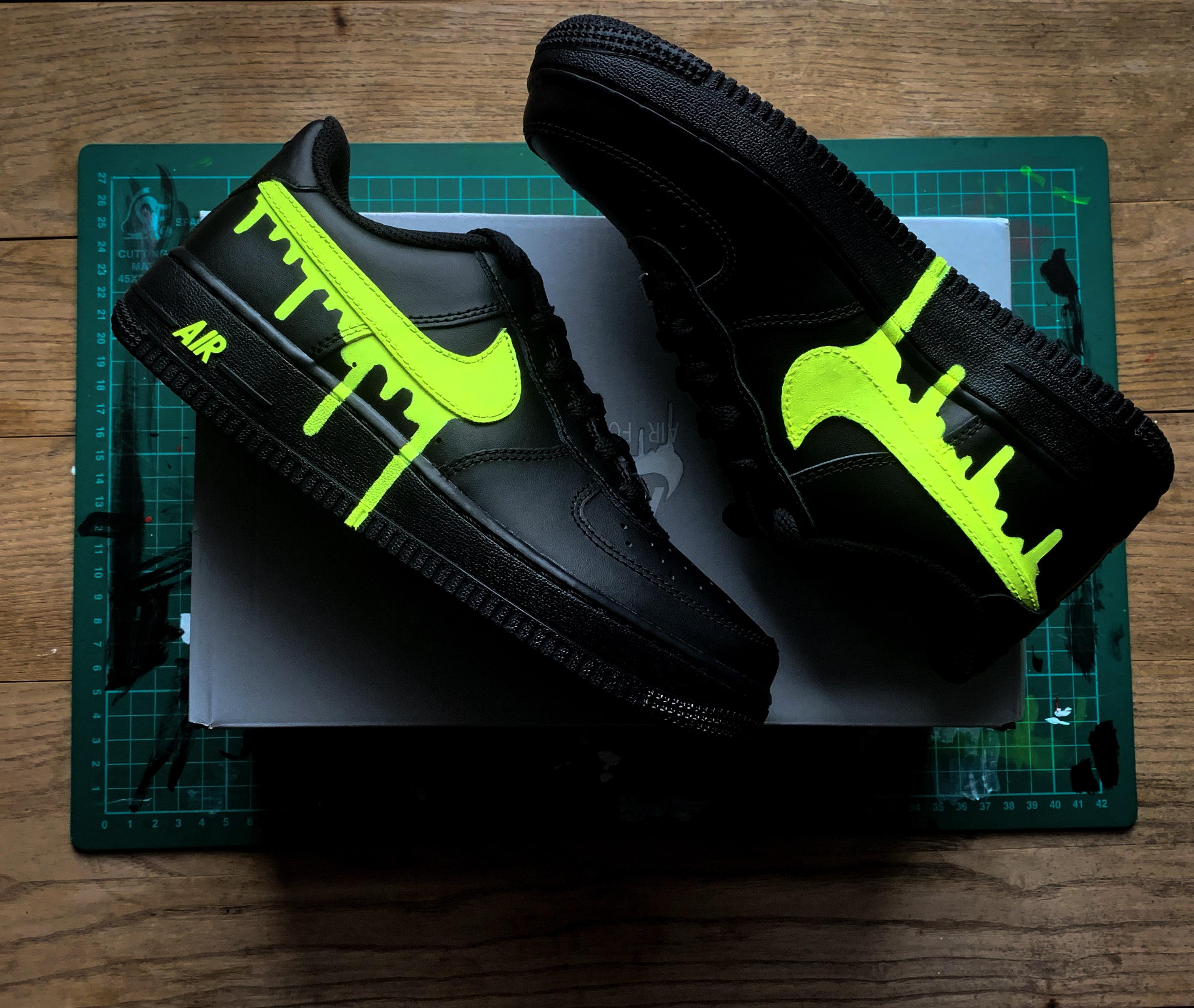 slime green af1