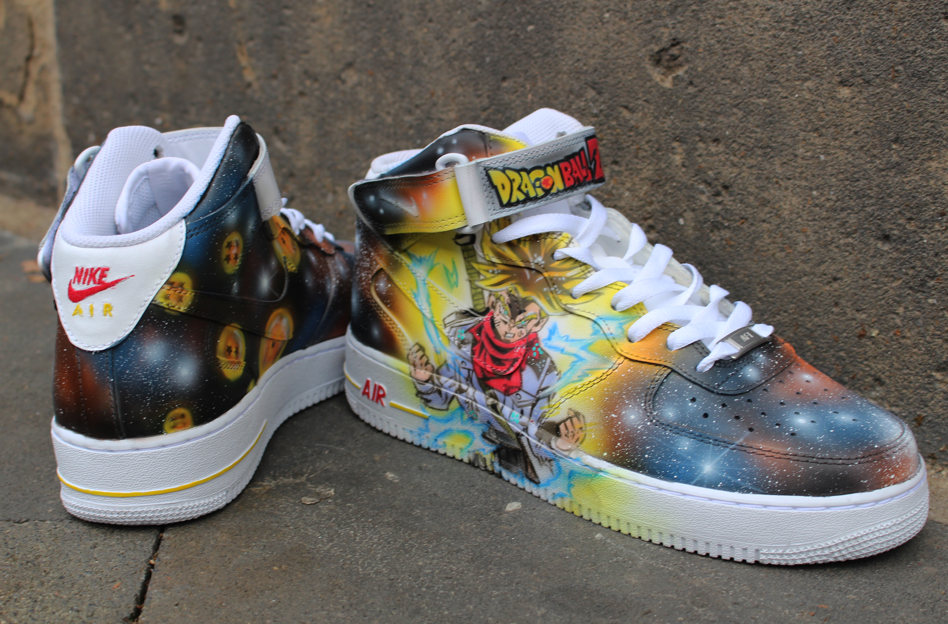 serie Intento Mezquita  Nike Air Force 1 mid