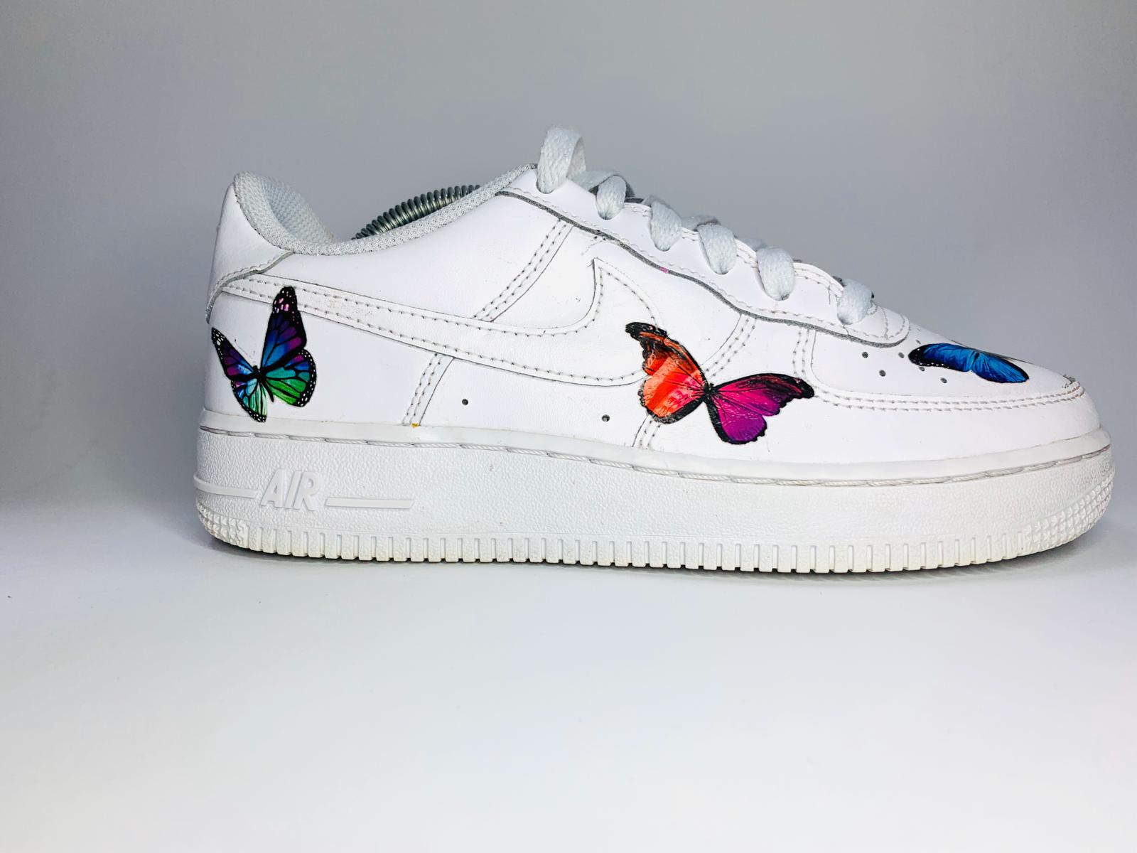 Nike Air Force 1 – Butterfly Custom | THE CUSTOM MOVEMENT