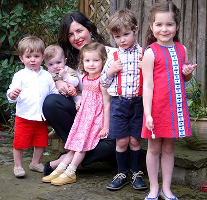 La Coqueta - Celia Muñoz and her 5 children