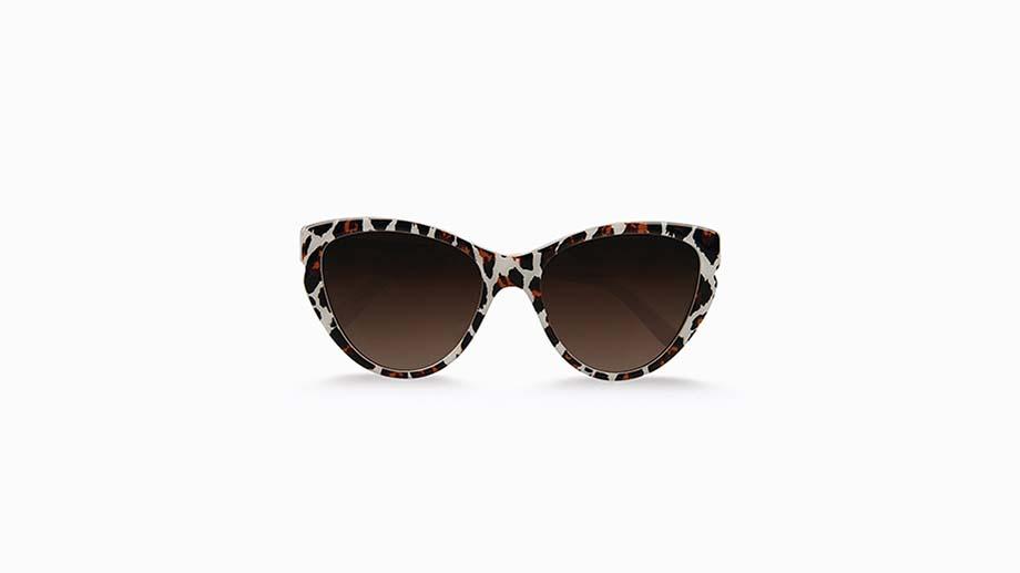 Leopard Printed Eco Sunglasses