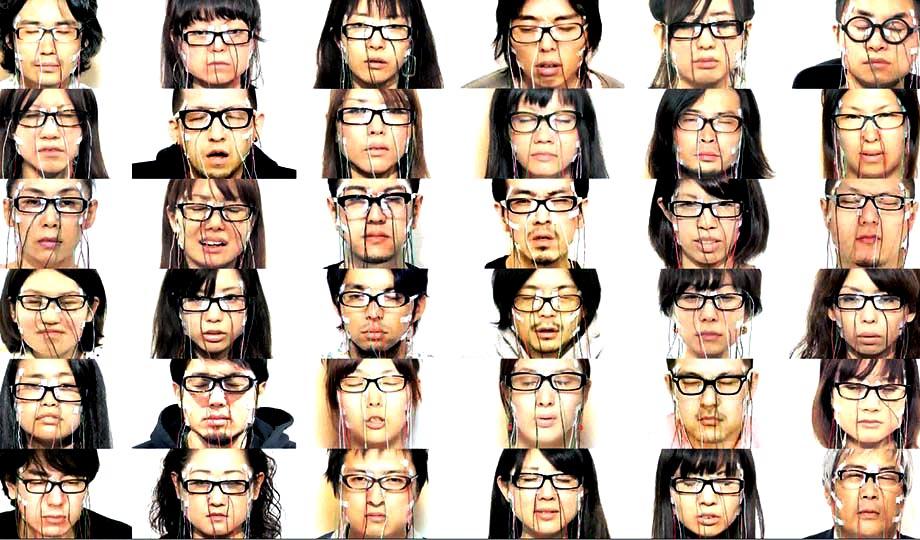 Daito Manabe: Face Visualizer