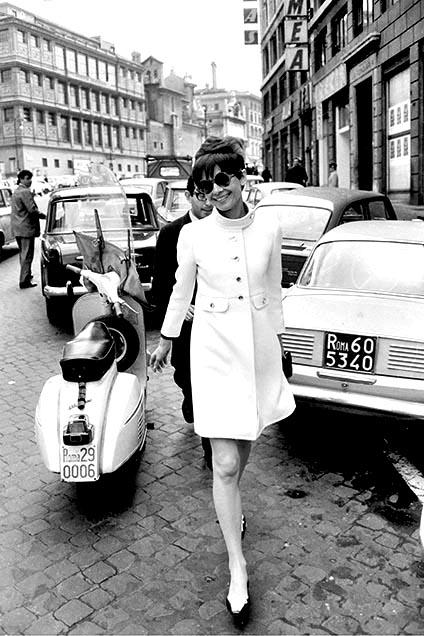 Audrey in Rome by Luca Dotti - Audrey Hepburn in Rome