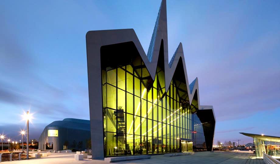 Zaha Hadid Architects - Riverside Museum in Glasgow