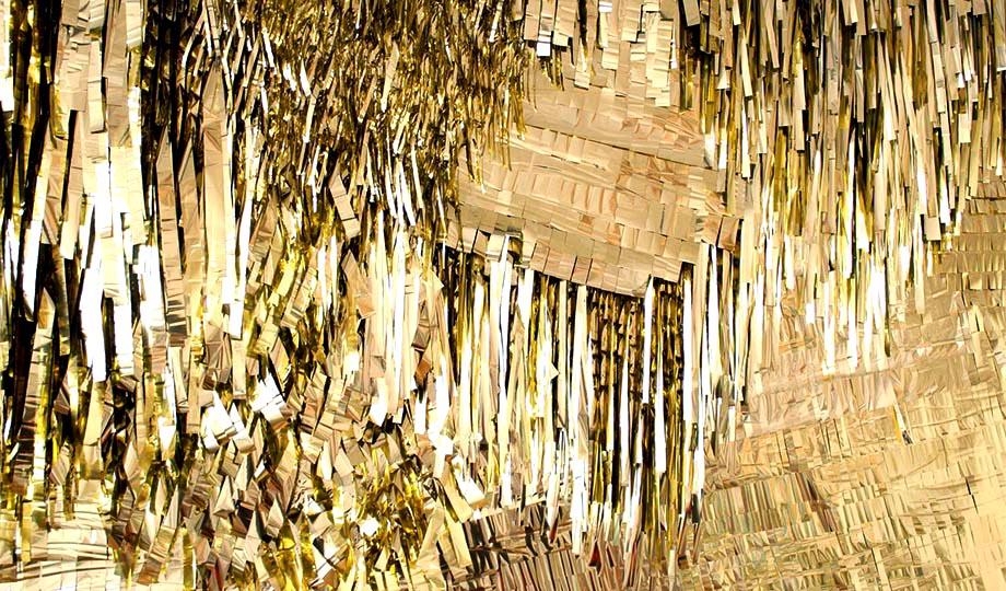 Confetti System - Gold Mylar