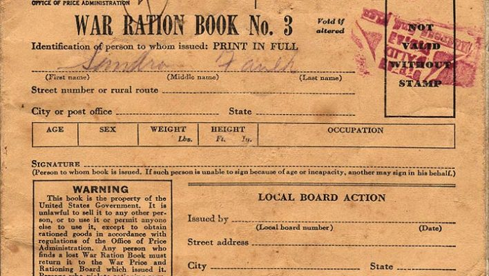Ration Book Eating, A Look into the Wartime Diet