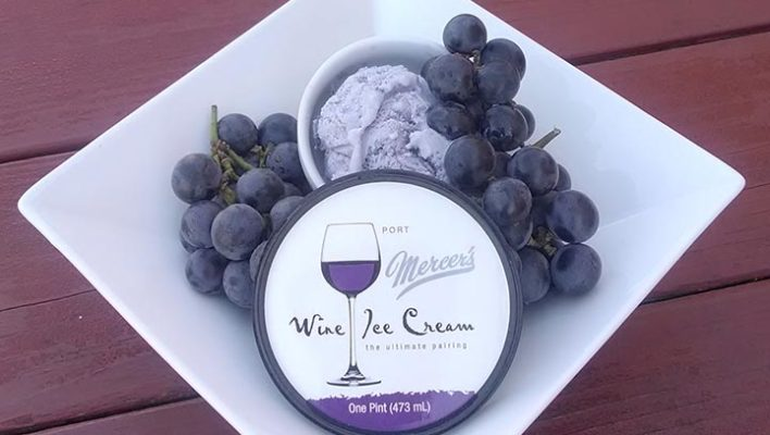 Ever Heard Of Wine Ice Cream?