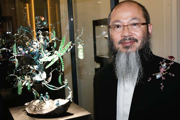 Wallace Chang - 27eme Biennale des Antiquaires, Le Grand Palais, Paris le 9 Septembre 2014