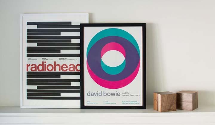 Radiohead and David Bowie