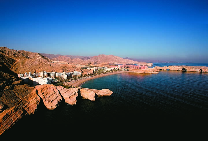 All images supplied graciously by The Shangri-La Barr Al Jissah Resort & Spa, Sultanate of Oman