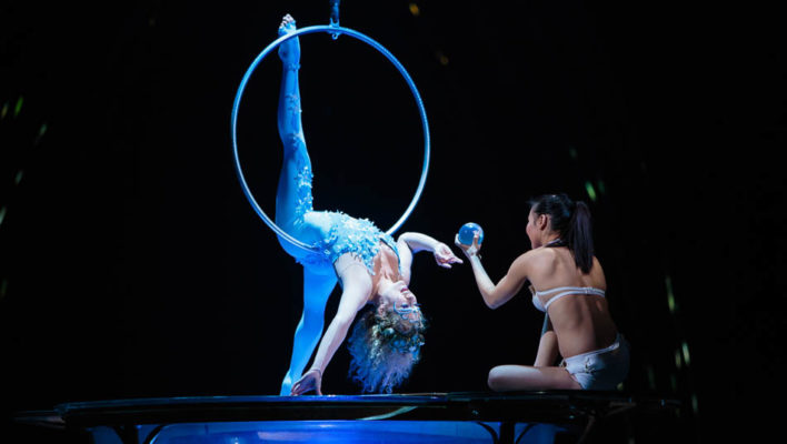 A day with Cirque du Soleil Moon Goddess