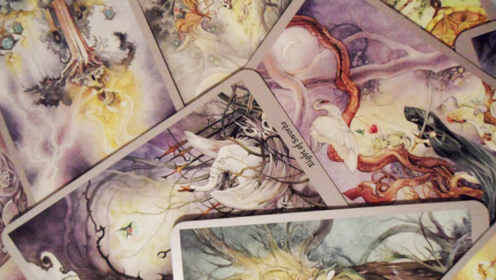 The Mystic World of Tarot Cards