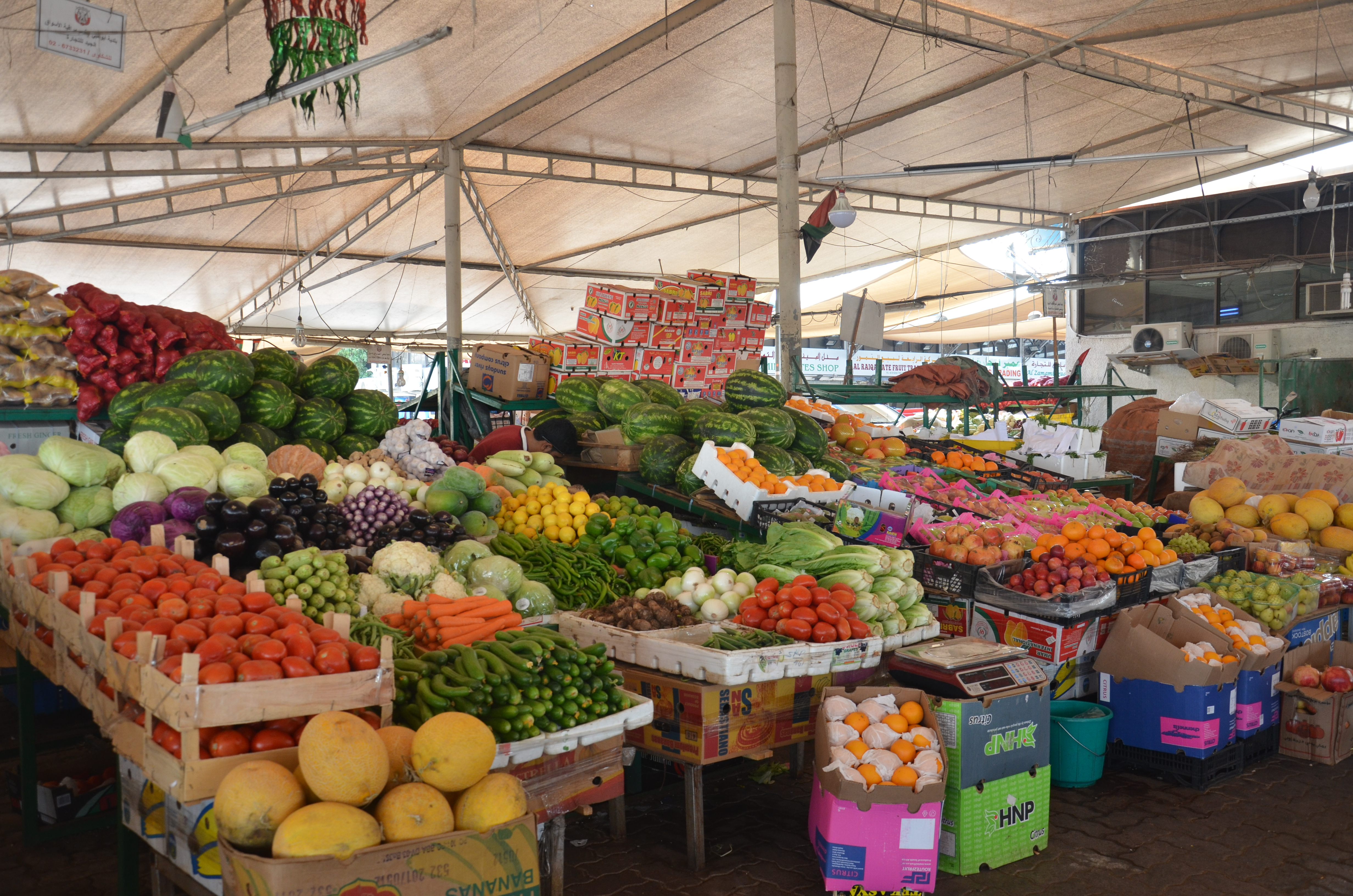 AD Beyond the Malls: Mina Fruit and Vegetable Market   The