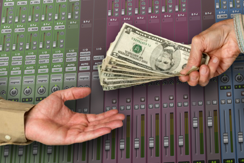 How much do artists pay to ghost producers?