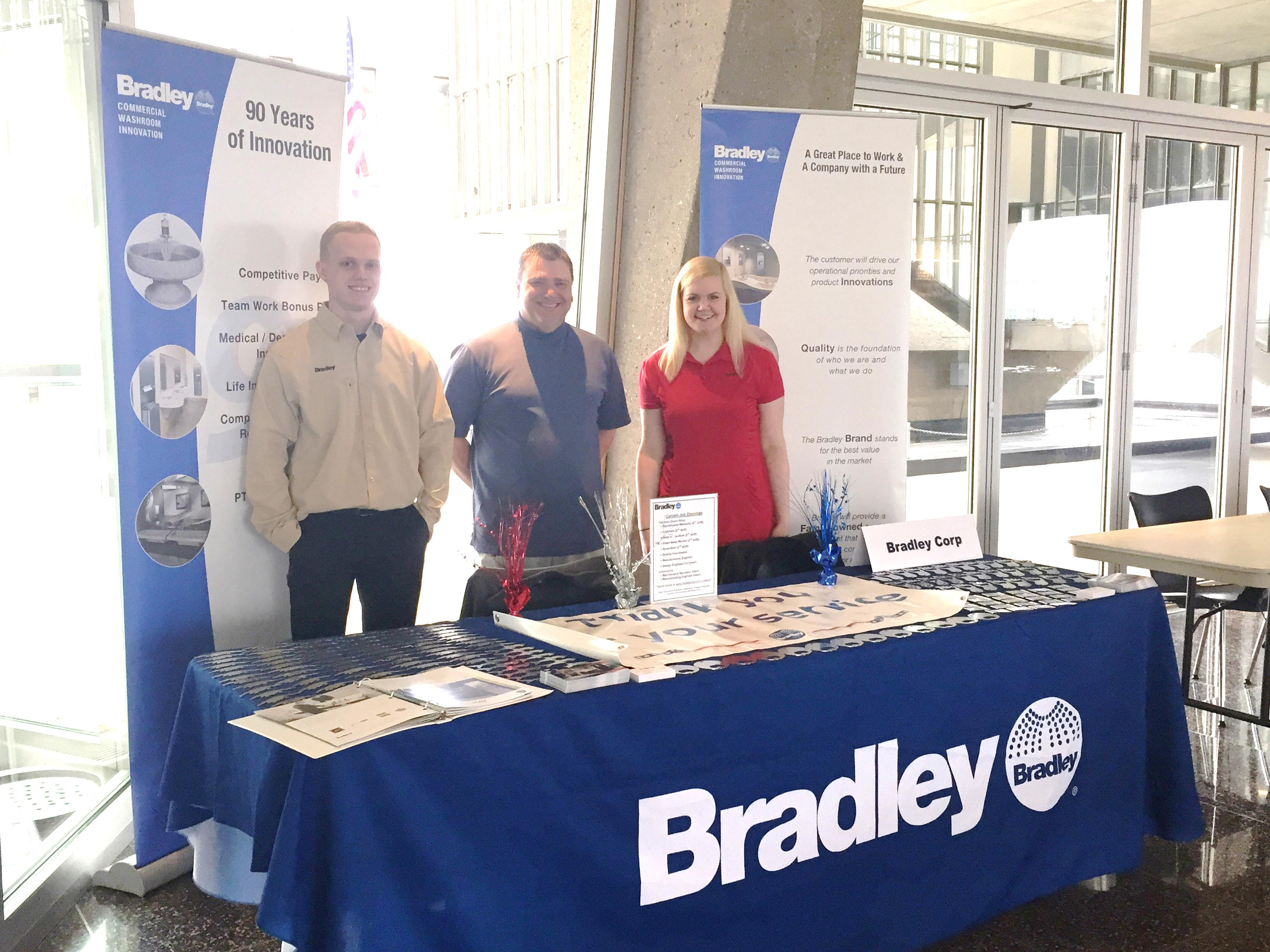 work for bradley bradley corporation veterans career fair