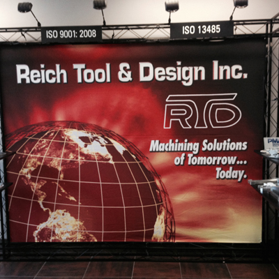 Reich Tool & Design - Booth