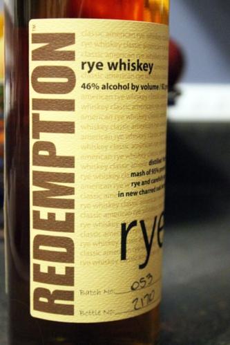 RedemptionRye