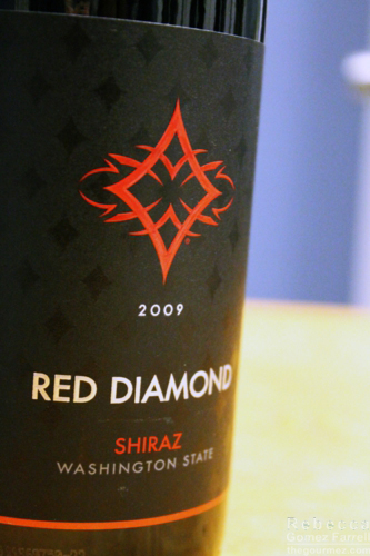 red diamond shiraz