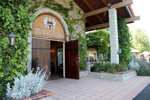 Entrance to the tasting room.