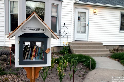 A teeny lending library
