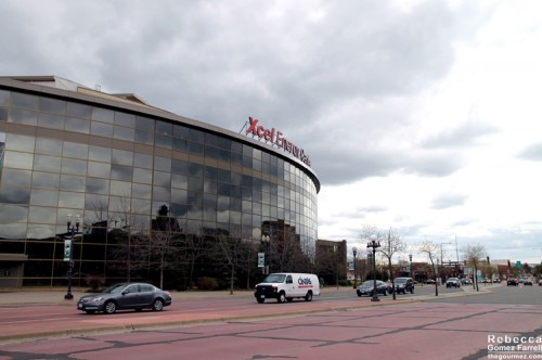 Passing the Xcel Center