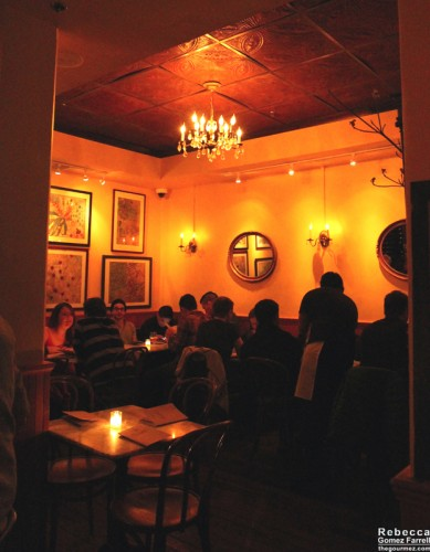 The main dining room.