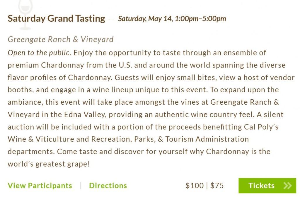2016 Chard Grand Tasting