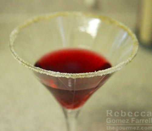 St. George Terroir Gin Raspberry Cocktail