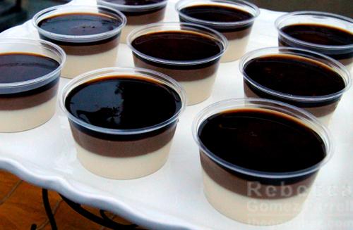 Tart! Bakery Vietnamese iced coffee panna cotta