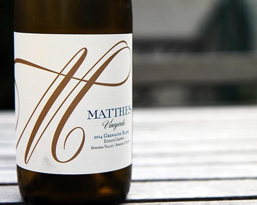 Matthes Vineyards Grenache Blanc