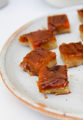 Accarrino almond cake bars