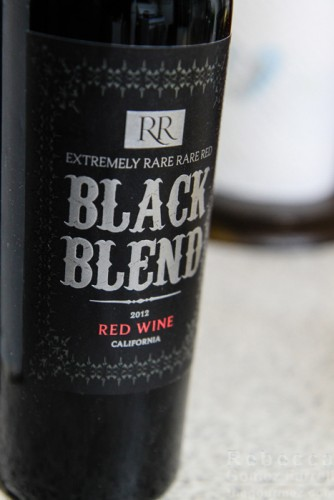 extremely rare rare red 2012 black blend wine