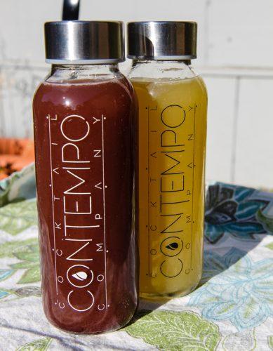Contempo cocktail bottles