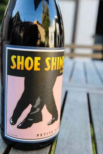 Justice Grace Vineyards Shoe Shine Petite Sirah 2011