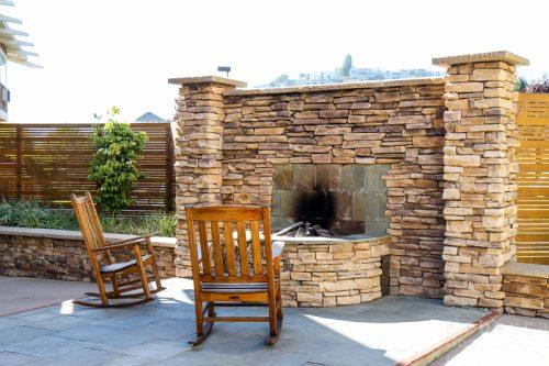The Lodge at Tiburon fireplace