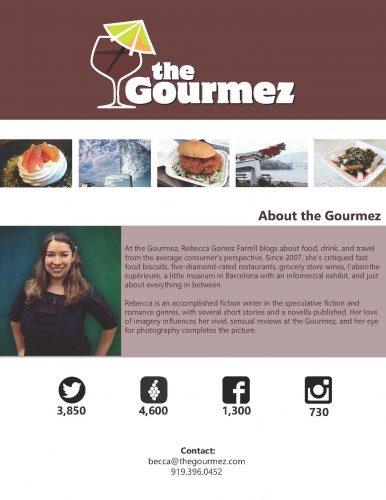 The Gourmez Media Kit