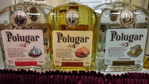 Polugar breadwine vodka whiskey