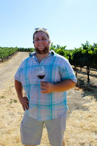 Vasco Urbano winemaker Collin Cranor.