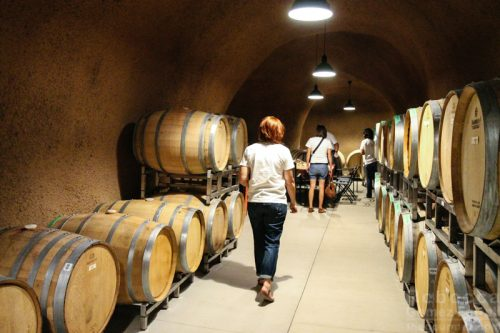 Bella Grace Vineyards Wine Cave