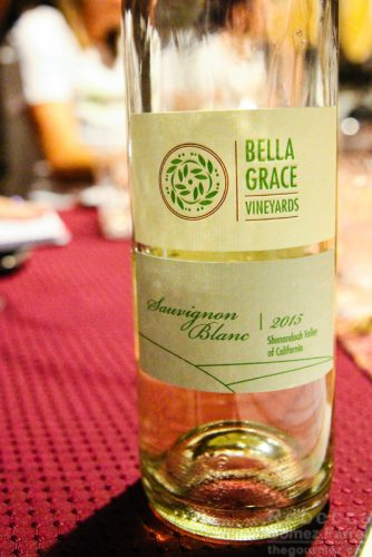 Bella Grace Vineyards Sauvignon Blanc